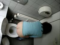 Poop voyeur | Attractive girls peeing and shitting in the college