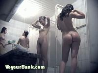 Young Hotties in the Shower 2