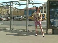 Super Sexy At A Bus Stop