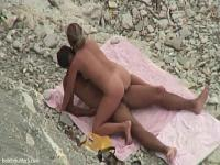 Catching A Couple Having Sex On The Beach