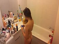 Can't Stop Texting Hidden Shower Clip